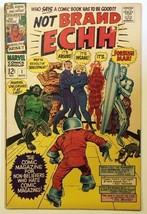Not Brand Echh Comic Book #1 Marvel Comics 1967 FINE - $21.20