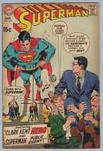 Superman 219 Aug 1969 VG (4.0) - $9.71