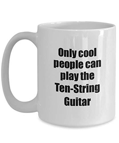Primary image for Ten-String Guitar Player Mug Musician Funny Gift Idea Gag Coffee Tea Cup 15 oz