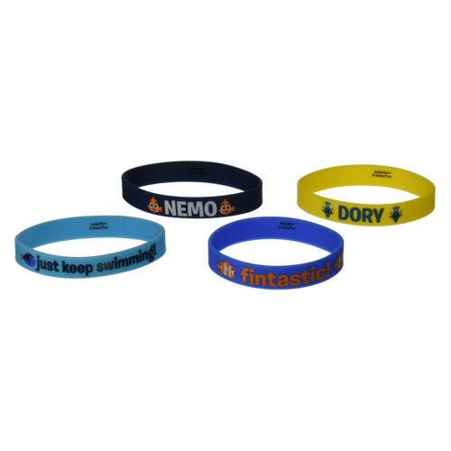 4 - Finding Dory Rubber Bracelets Party Supplies Favors - $9.72