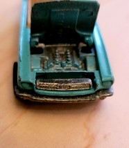 "VTG 1983 Hot Wheels Mattel 3"" MUSTANG Convertible Car Turquoise Teal Str... - $9.80"