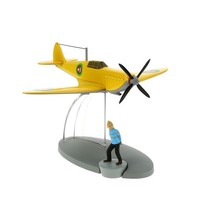 Tintin in the Land of black gold The Emir's yellow plane