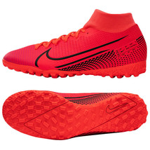Nike Mercurial Superfly 7 Academy TF Football Shoes Soccer Cleats Red AT7978-606 - $97.99