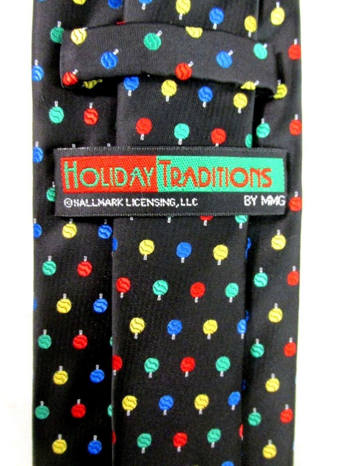Hallmark Christmas Ornament Men's Tie