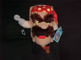 """11"""" Adventure Pirate Hook Plush Toy With Tags From Pagemaster by Applause 1994 - $56.09"""