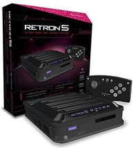 Hyperkin RetroN 5 Retro Video Gaming System Console - BLACK - 2018 Edition - $123.99