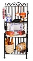 2019 Dollhouse Filled 3-shelf Kitchen Pantry Rack 1.475/1 Reutter Miniature - $84.55