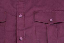 Men's Casual Western Pearl Snap Button Down Long Sleeve Cowboy Dress Shirt image 11