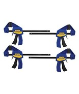 IRWIN QUICK-GRIP Clamps, One-Handed, Mini Bar, 6-Inch, 4-Pack (1964758) - $22.78