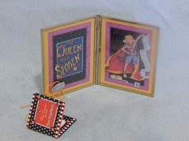 Mary Engelbreit Folding Glass Picture Frame The Queen Has Spoken - $9.90
