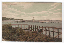 Badeansalt  Bathing Baths Kristianholms Sweden 1907 postcard - $6.44