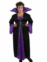 NWOT Forum Novelties Women's Sorceress Costume Purple/Black XXXL - $23.04
