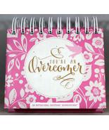 You're An Overcomer Dayspring Daybrightener Perpetual Flip Calendar Grea... - $13.87