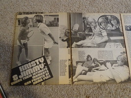 Kristy Mcnichol Jimmy Mcnichol teen magazine pinup clipping shorts tennis legs