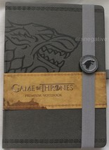 Game of Thrones Stark Textured Hardcover A5 Writing Journal Notebook Lic... - $22.28