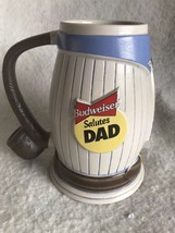 Budweiser 1996 Father's Day Beer Stein CS298 This Bud's For You Dad Mug ... - $24.74