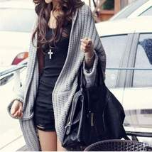 Loose Batwing Knitted Fall Winter Cardigan - $27.00