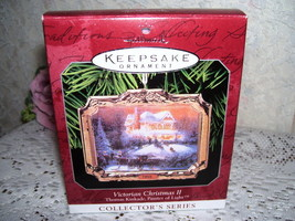 HALLMARK ORNAMENT THOMAS KINKADE #2 SERIES MIB - $17.75