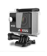 Axess HD 720p Waterproof Action Camera-Black - $59.47