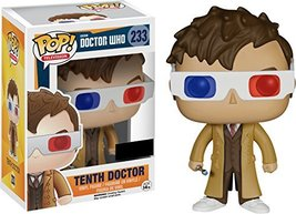 Funko Pop Television: Tenth Doctor with 3D Glasses Collectible Figure, Multicolo - $39.99
