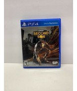 inFamous Second Son Limited Edition- (PS4-PlayStation 4)(2014) Tested, V... - $9.89