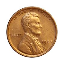 1925 P Lincoln Wheat Cent - Choice BU / MS / UNC - $27.00