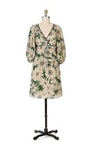 Moulinette Soeurs Anthropologie 'Dandy Daisy' Dress multicolor silk bld ... - $44.54