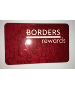 Vintage Borders Rewards Membership Card Waldenbooks Book Store Out of Bu... - $19.99