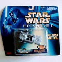 Star Wars Micro Machines GIAN SPEEDER Die-Cast Titanium Episode 1 Ship - $14.99