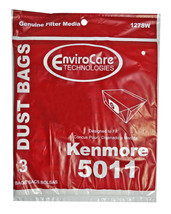 Kenmore 5011 Canister Vacuum Cleaner Bags 46-2408-02 - $5.36