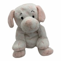 Ty Pluffies LOVESY Pink Hearts Puppy Dog Plush TyLux 2004 Stuffed Animal Lovey - $19.75