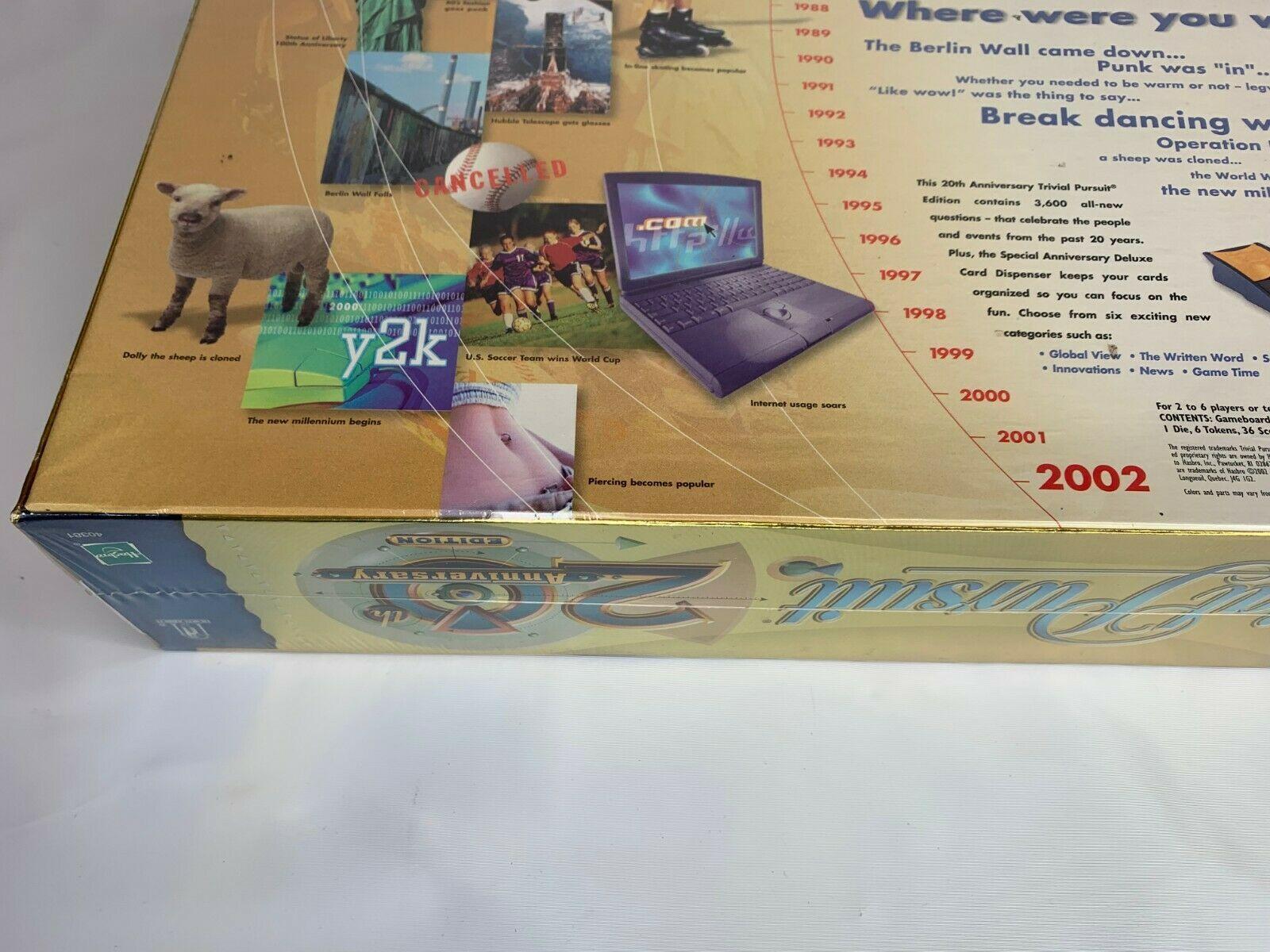 Sealed Decks 600 Trivia Card Set Trivial Pursuit Millennium Edition