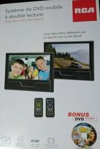 "RCA 9"" Twin Screen Mobile DVD Player DRC772989DE22 - $135.56"