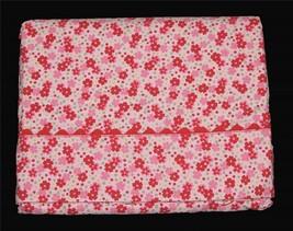 Tommy Hilfiger Jenna Bright Pink Red Petite Flowers Twin Flat Sheet NIP ... - $29.99