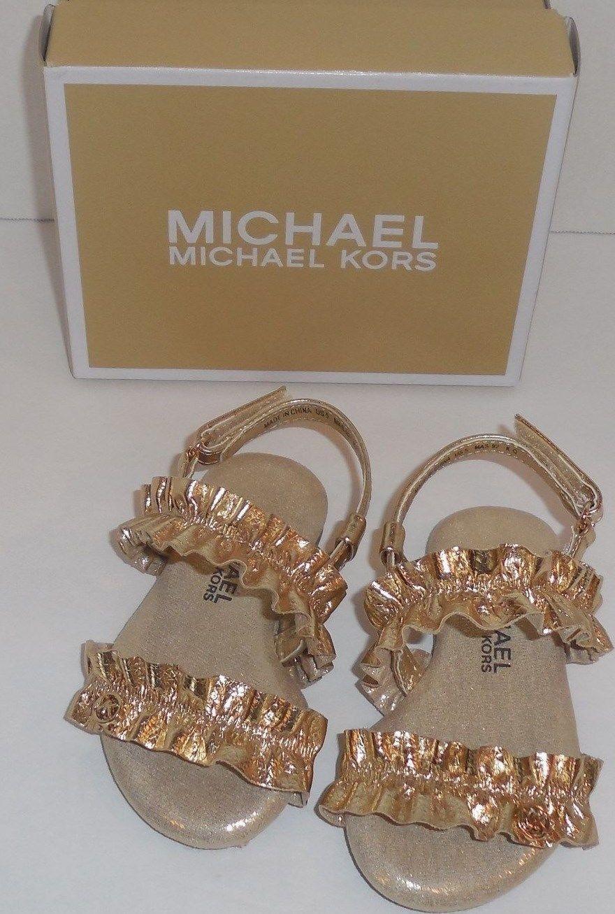 0c430c6088 Michael Kors Girls 8 Toddler Demi Frillz and 50 similar items