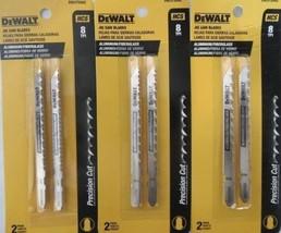 """DEWALT DW3755H2 4"""" 8 TPI HCS Jig Saw Blades 3-2 Packs - $5.94"""