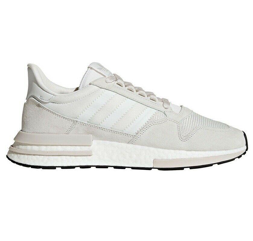 Adidas Originals ZX 500 RM Boost Mens Running Shoes Cloud White Gray B42226