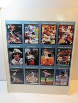 1991 Tuff Stuff Uncut Insert Card Sheet Jack Nicklaus Cal Ripken Wayne G... - $33.66