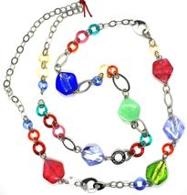Necklace and Bracelet Antica Murrina Venezia CO525A19 Murano Glass Multicolour image 5