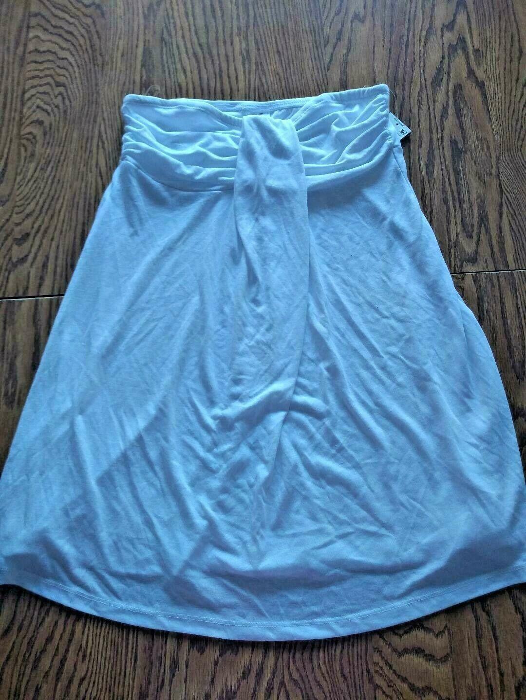 Hula Honey White Beach Cover Up Skirt Size Medium