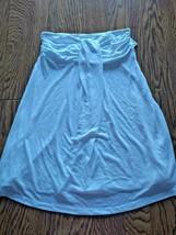Hula Honey White Beach Cover Up Skirt Size Medium image 1