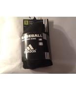 Adidas Baseball Socks Diamond King 2 Pair Black Sz S Anti-Microbial - $10.99
