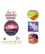 Nike makeup mirror compact mirror purse mirror travel mirror #134 - $11.99