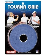 Tourna Tennis Racquet Over Grip 10 Overgrips Absorbent Dry Feel Tournagr... - $12.51