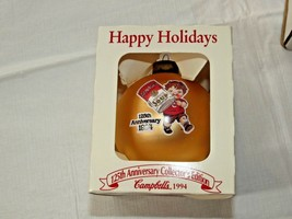 Campbells Christmas Ornament 125th Anniversary Collector's Edition 1994 ... - $16.03