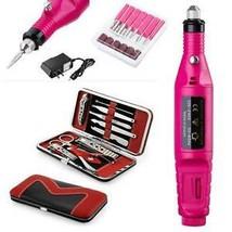 Professional Electric Nail File Drill Manicure Tool Pedicure Machine Set... - $19.33