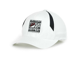 Indycar Milwaukee IndyFest Racing Stretch Fit Event Cap Hat Sizes SM/MED... - £16.46 GBP