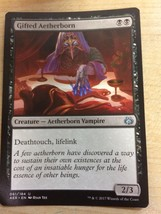 MTG Gifted Aetherborn - $1.51