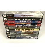 PlayStation 2 PS2 Game Lot 10 Game Bundle COD 007 Metal Gear Solid God O... - $49.99
