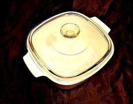Vintage Corning Ware2 Piece Serving Dish and Lid AB 249-B - $59.95